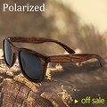 Venta caliente 2017 new de la manera gafas de sol gafas de sol de las mujeres de moda gafas gafas de madera de bambú hecha a mano gafas de sol polarizadas de los hombres