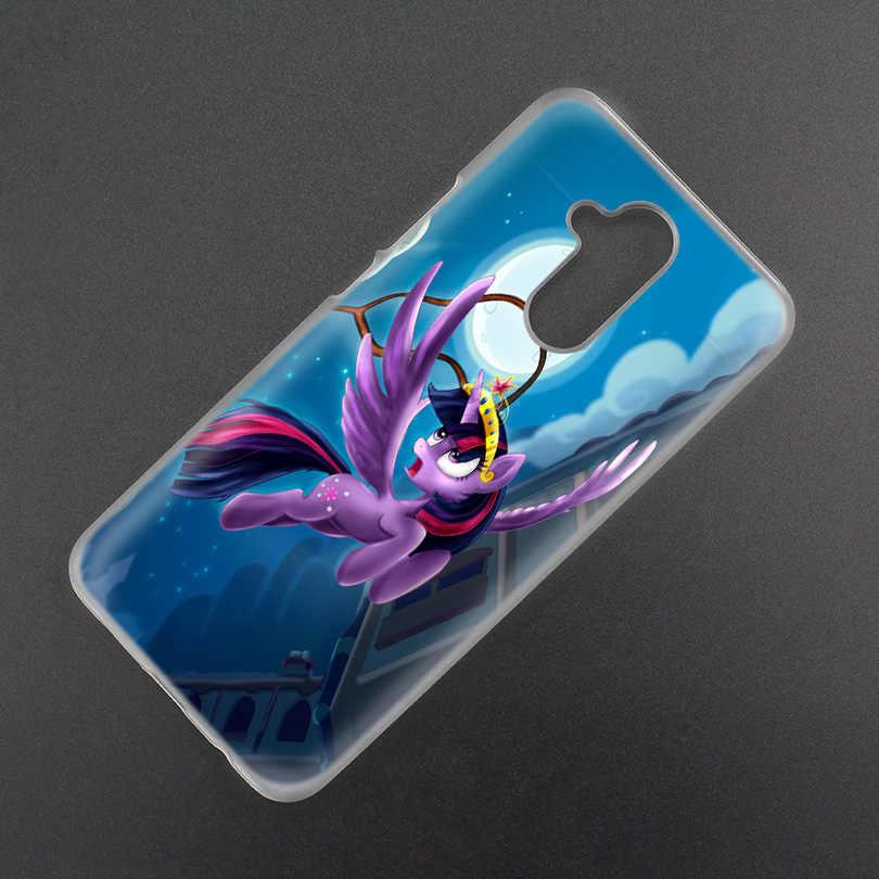 Чехол для huawei Honor P20 Коврики 20 10 P10 P9 P8 8X9 Lite P Smart + плюс 2017 2019 Nova 3i ясный с рисунком из мультфильма «Мой Маленький Пони»