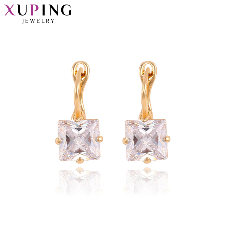 1351c3f49 Xuping Earring Hoop Earring New Arrival Statement Jewelry Popular Design  for Women Christmas Gift S28-90742