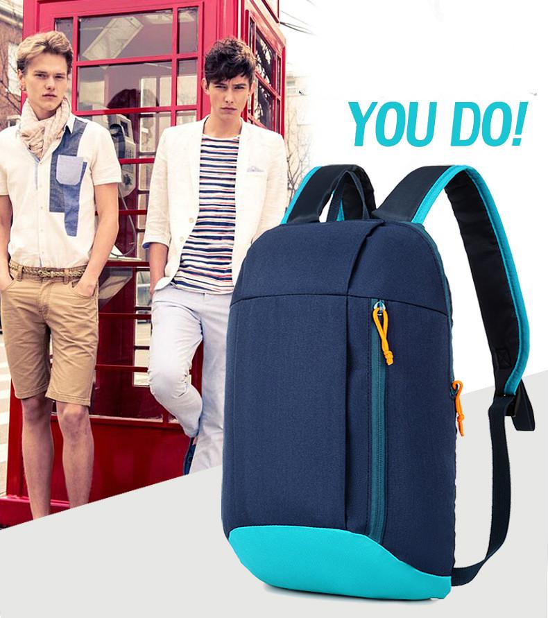 Waterproof S ports Backpack Out Door Luggage Shoulder Women Men School Bags Bagpack Mini Small Teenage Travel Rucksack 1