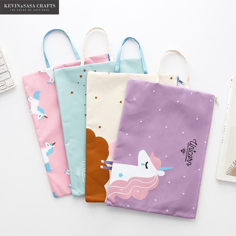 Fabric File Folder Document Bag 1Pc Sell Quality Stationery Document Folder 23*33cm Office File Folders Kawaii School Supplier 1pc brand new waterproof book paper file folder bag accordion style design document rectangle office home school 32 23 1 7cm
