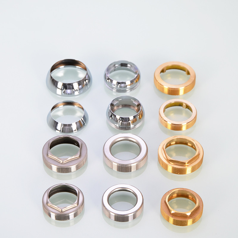 Gold Silver 4 6 Points Seal Faucet Trim Cover Decorate Stainless Steel Copper Tap Sink Head Faucet Trim Accessories