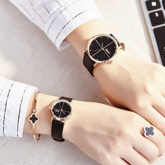 2017 Luxury Brand Lover Watch Pair Men Women Couples Lovers Quartz Watches Set W