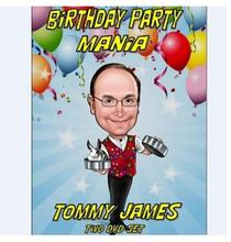 Birthday Party Mania By Tommy James - magic tricks