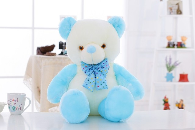 Kawaii Glowing Teddy Bear Plush Toys