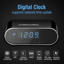 Mini Camera Clock Alarm P2P Livecam IR Night Vision Wifi Cam IP 720 DV DVR Camcorder Remote Control