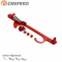 CNSPEED 4150 4160 серии Черный Красный Синий Серебряный Заготовка алюминиевый дроссель кабельный кронштейн карбюратора YC101100