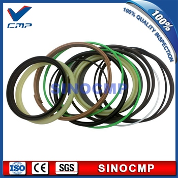 2 sets R220LC-7 R220-7 Boom Cylinder Repair Seal Kit 31Y1-15885 For Hyundai Excavator Service Kits , 3 months warranty