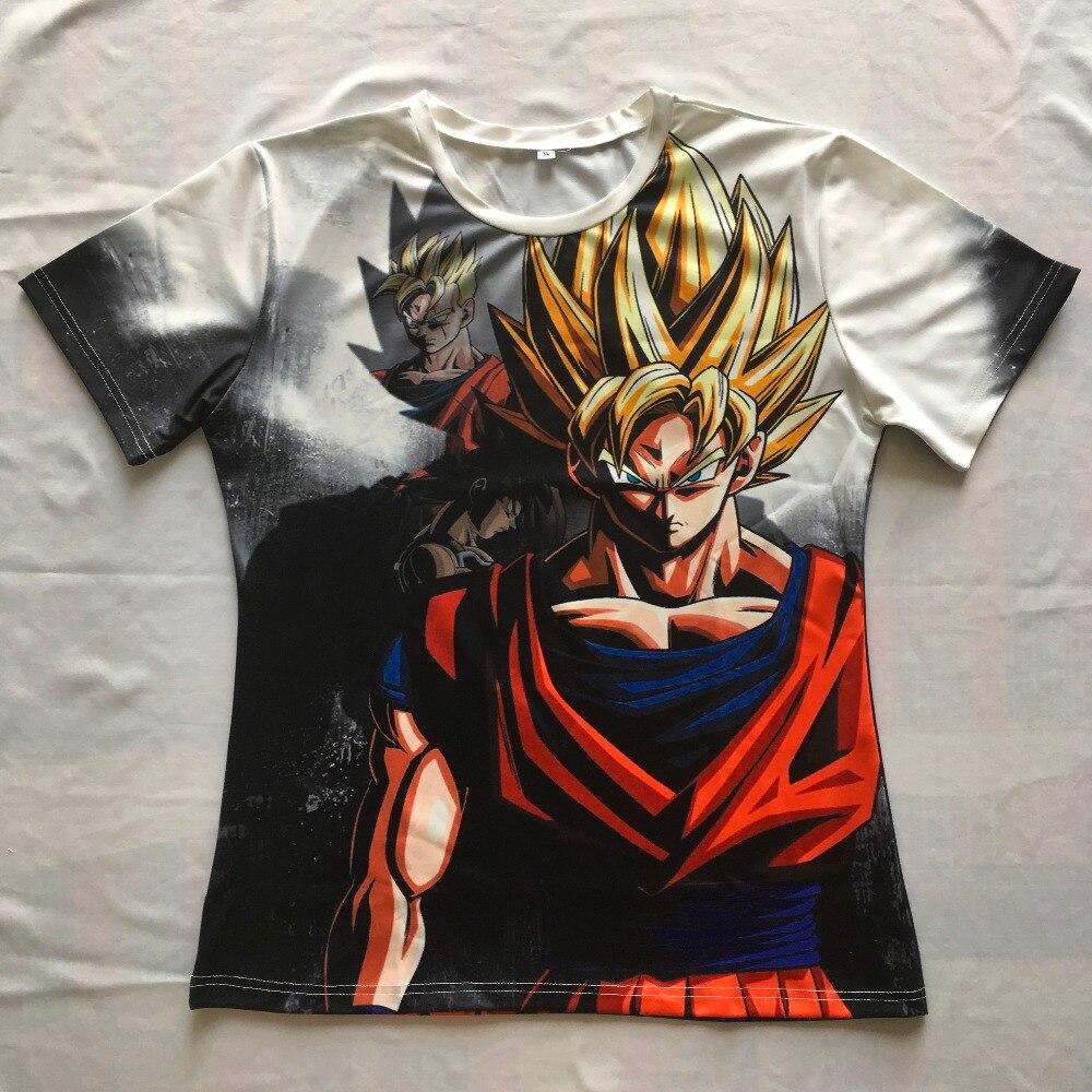 Newest classic anime dragon ball z super saiyan 3d t-shirt fire black goku t shirts galaxy t shirt tees hip hop tees tops-1