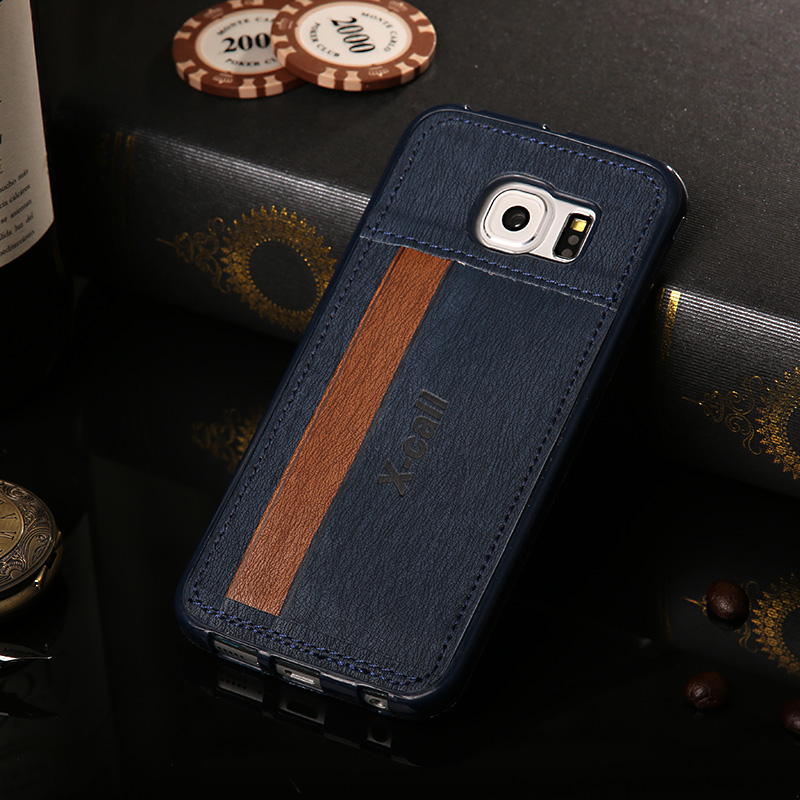 timeless design b7b9f 71b31 US $5.75 |Deluxe Hybrid Soft TPU+Retro Leather Card Holders Case Cover For  Samsung Galaxy S7/S7 Edge Card Slots Bags Case For S7/S7 Edge on ...