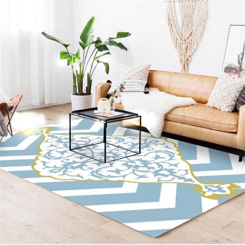 AOVOLL tapis nordiques et tapis pour la maison salon chambre enfant chambre tapis pour le salon moderne salon tapis - 6