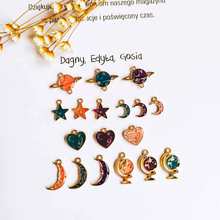 Earring Accessories Metal Pendant Star Heart Eardrop Components Necklace Charms Diy Making Material Jewelry Finding 8pcs geometric earring accessories star metal pendant eardrop components necklace charms diy making material jewelry finding 6pcs