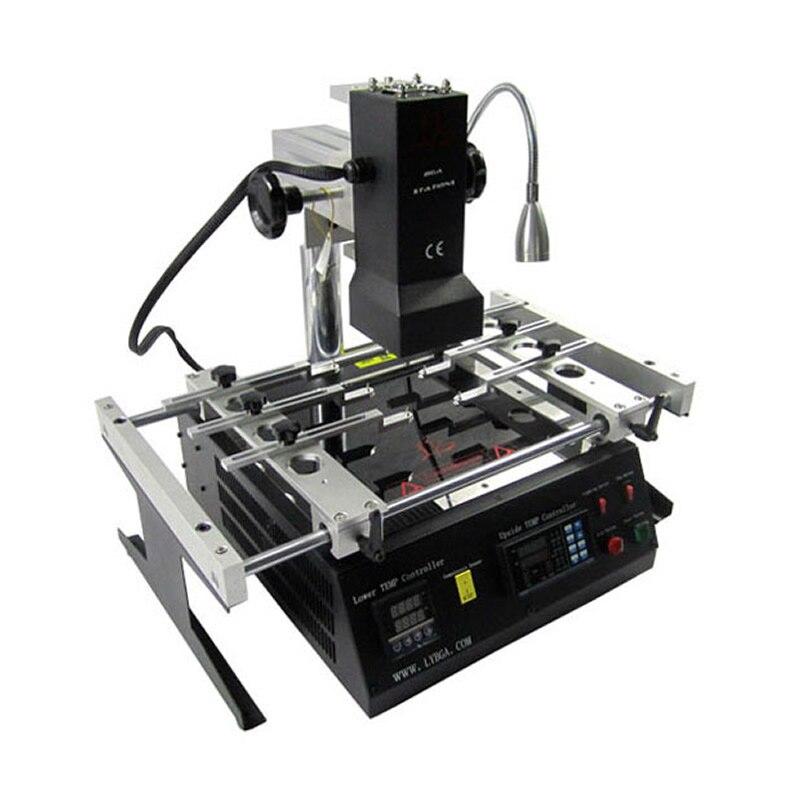 LY IR6500 v.2 BGA Rework Station reballing machine for motherboards repair bga repair anti static tweezers 8pcs lot for bga rework station bga reballing kits tweezers free shipping