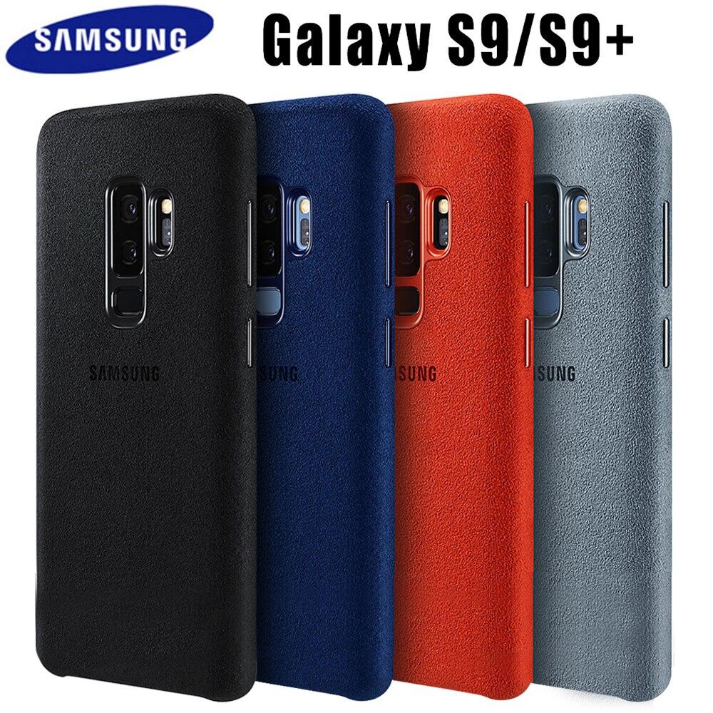 Samsung S9 caso Original oficial de protección completa de cubierta de cuero de Samsung Galaxy S9 Plus caso Coque Galaxy S9 caso