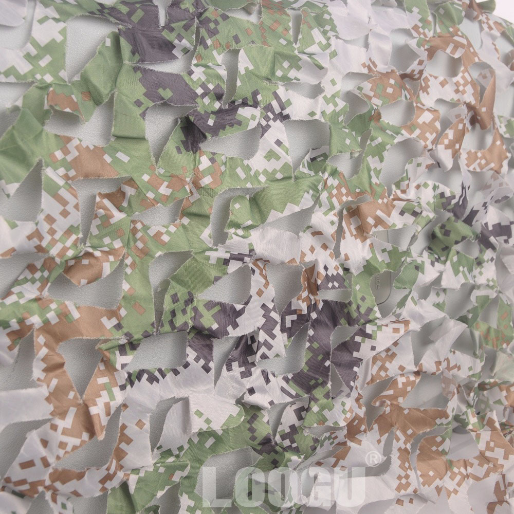 LOOGU E 2M 1 5M cheaper Car covering tent Woodland digital camouflage Netting font b Hunting