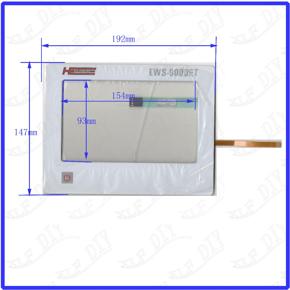 ZhiYuSun 7 inch touchsensor glass New Touch Screen Replace EWS-8000ET USED WAGETECHNIK Membrane key panel zhiyusun for iq701 new 8 inch touch screen panel touch glass this is compatible touchsensor 124 5 173