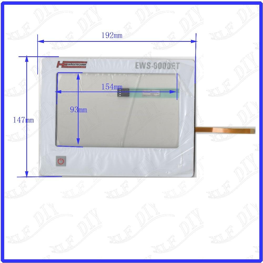 ZhiYuSun 7 inch touchsensor glass New Touch Screen Replace EWS-8000ET USED WAGETECHNIK Membrane key panel цена 2017