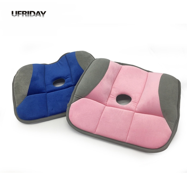 UFRIDAY Chair Orthopedic Hemorrhoid Seat Pillow Meditation Decorative  Ventilation Back Home Office Decor Cushion Seat Cushion