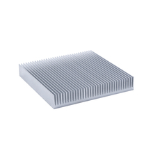 1PC High-power Aluminum Heat Sink Dense Tooth Radiator 90x90x15MM Electronic Cooling Plate Aluminum Bar
