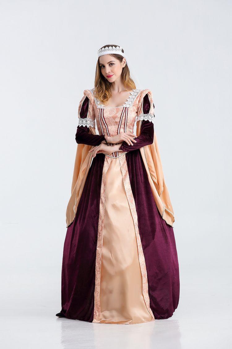Pharaon égyptien Costume de reine Cosplay déesse grecque Cosplay Costume Court Maxi robe - 3