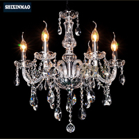 SHIXNIMAO Luxury Electric Crystal Chandelier 6Arm/8Arm/10Arm/15Arm Crystal lamp Crystal Chandelier