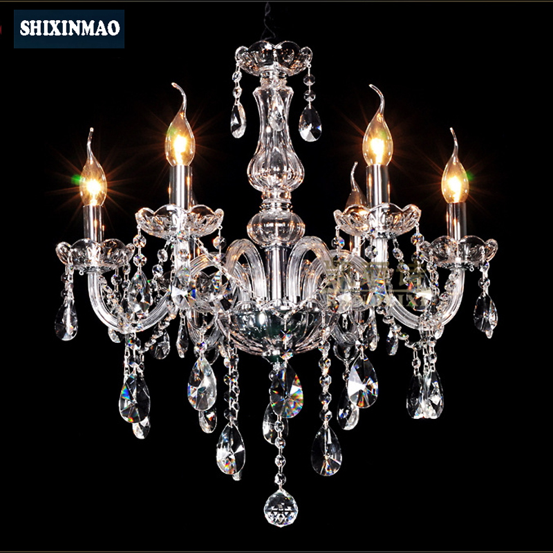SHIXNIMAO Luxury Electric Crystal Chandelier 6Arm 8Arm 10Arm 15Arm Crystal lamp Crystal Chandelier02