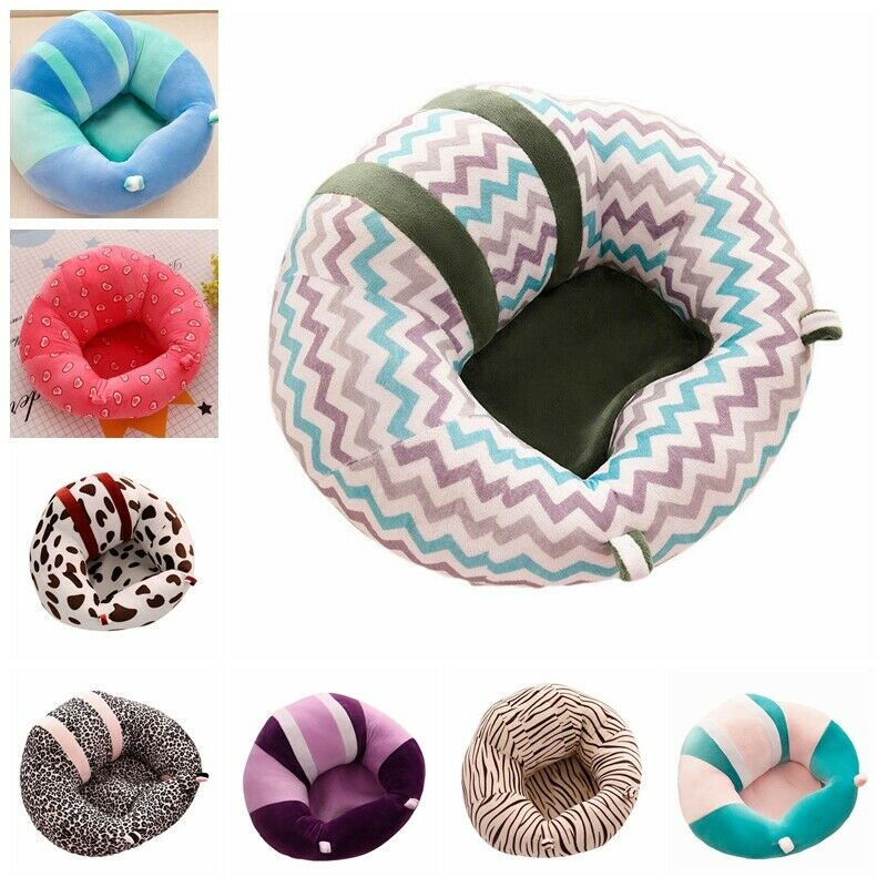 Fashion Cute Baby Support Seat Soft Pillow Cushion Sofa Plush Sitting Toys Gifts
