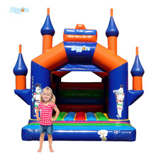 Castle Style Large Custom Inflatable Bounce Castle House for Children
