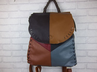 Free Shipping Women Real Leather Backpack Hand Made Cowhide Backpack