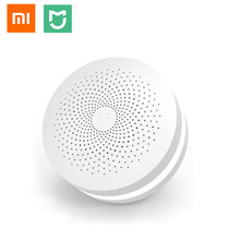 Xiaomi MIJIA Upgraded ZigBee Version Gateway Smart Home Kit Multifunctional Hub Remote Controller Centor Support Yeelight Aqara(China)