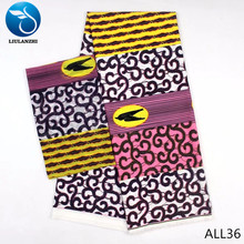 LIULANZHI modal fabric african printed for dress 2yards+4yards Nigeria Audel 6 yards/lot ALL26-ALL36