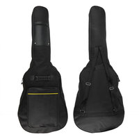 Free Shipping Classic Soft Acoustic Guitar Bass Case Bag Holder With Double Padded Straps 40 41