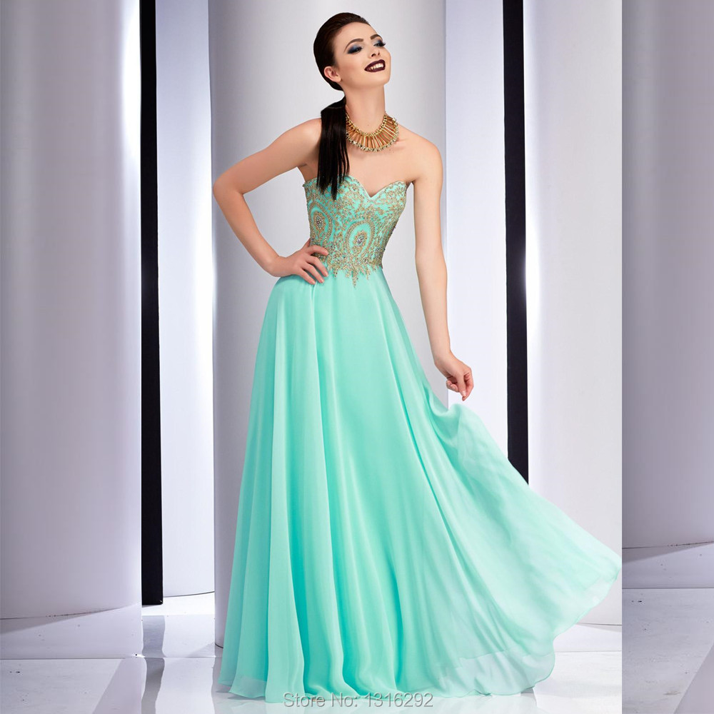 Dark Turquoise and Gold Dresses | Dress images