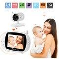 """3.5 """"Baby Monitor LCD Pantalla Digital de 2.4 GHz de Señal de Dos vías Talk Visión Nocturna Audio Video 8 Canciones de Cuna Control de la temperatura"""