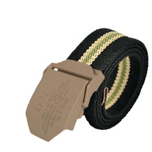 Men Belt 2017 New Fashion Unisex Army Tactical Waist Belt Jeans Male Casual Luxury Canvas Webbing Waistband Ceinture Femme