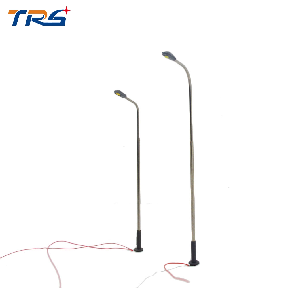 1:75-300 Model Railway Street Lighting Model making LED Lights Lamppost Model Scale Street Steel Metal Lamp