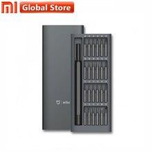 Ursprüngliche Globale Version Xiaomi Mijia Wiha Täglichen Einsatz Kit 24 Präzision Magnetische Bits Alluminum Box DIY Schraube Fahrer Smart Home set