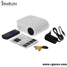 Nueva Llegada X6 Portable Mini Proyector Led 80 Lúmenes Hdmi Av/Vga/Sd/Usb Digital 4 k proyector