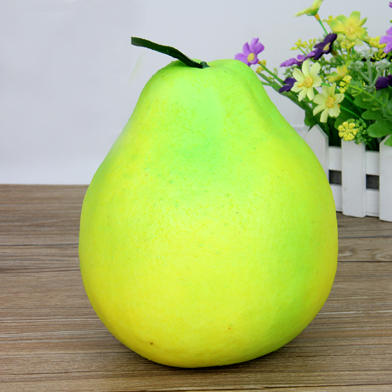 050 Simulation of pomelo foam fake pomelo fake fruit vegetable model 16 17 5cm in Artificial Foods Vegetables from Home Garden