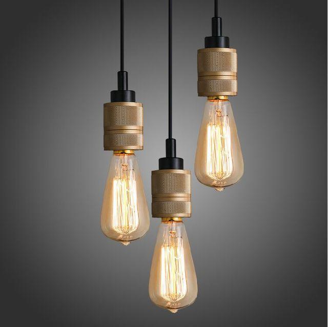 edison bulb pendant light fixture dining room loft mini edison bulb pendant light home lighting fixture for bar e26e27 110v 220v