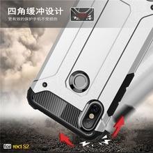 sFor Case Xiaomi Redmi S2 Cover Armor Rubber Plastic Hard Back Phone For  S 2 Fundas