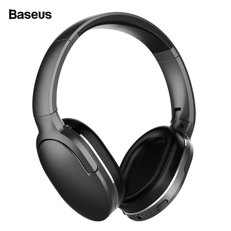 Baseus Bluetooth Headphone D02 Wireless Headphones With Microphone Portable Bluetooth Headset For Phone Computer Wired Earphones Наушники