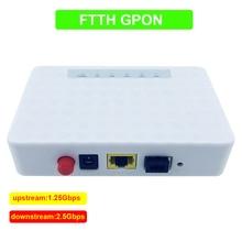 GPON Faser gerät zu benutzer seite ONU FTTO 1GE GPON 1 port FTTH ONU ONT Einzelnen LAN Port OLT 1,25G Gpon ZTE Chipset Faser t hause FTTB