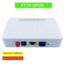 Устройство GPON Fiber к пользовательской стороне ONU FTTO 1GE GPON 1 порт FTTH ONU ONT одиночный порт LAN OLT 1,25G Gpon набор микросхем для ZTE Fiber t home FTTB