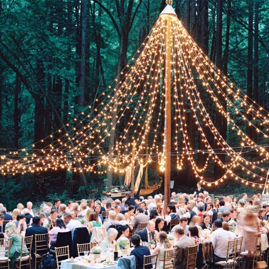 Led Globe Light String Holiday Festoon