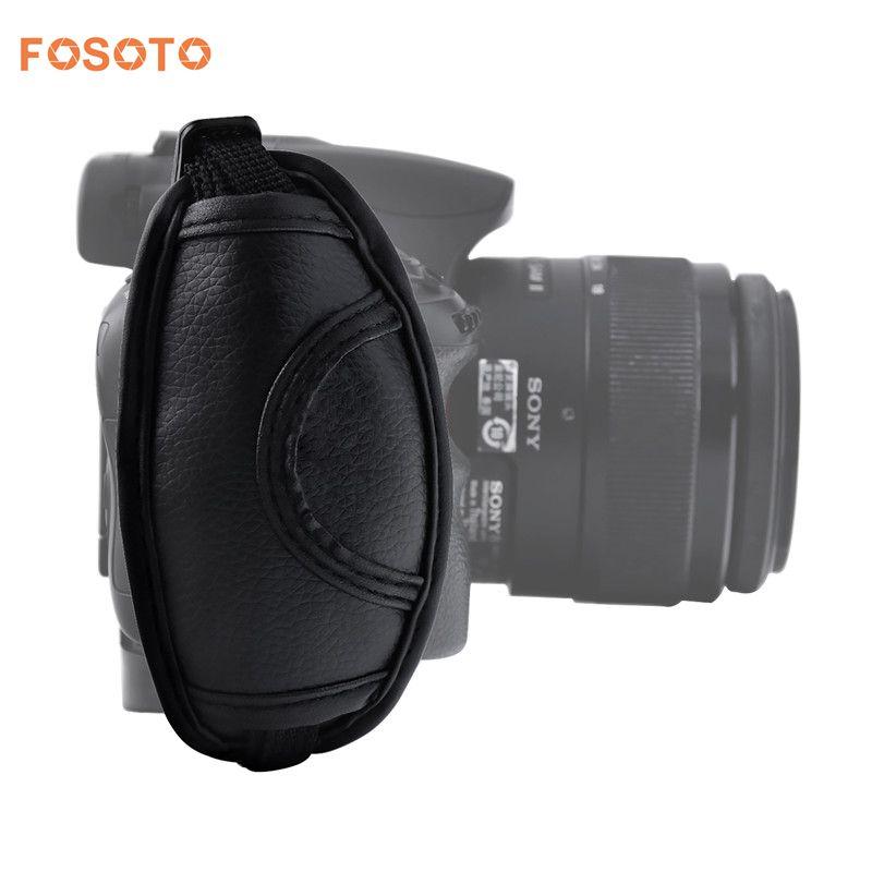 Fosoto Kamera Hand Handgelenk Grip für Nikon Sony Canon 5D Mark II 650D 550D 70D 60D 6D 7D Nikon D90 D600 D71 DSLR Kamera