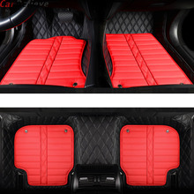 Car Believe Genuine Leather car floor Foot mat For suzuki grand vitara 2008 jimny sx4 swift accessories waterproof carpet rugs все цены