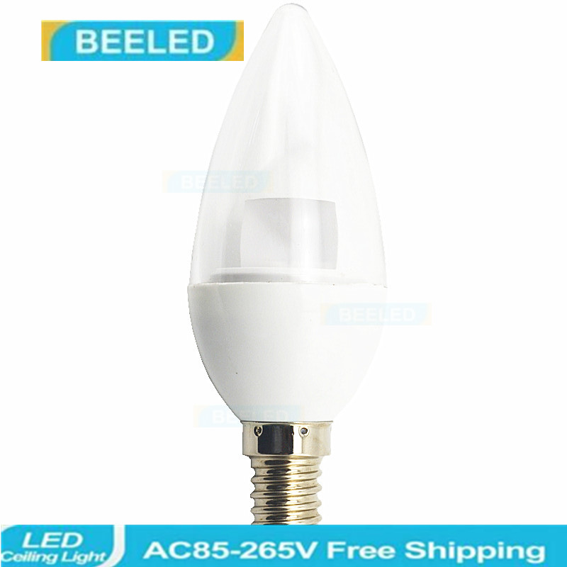 6 X LED E14 Bulb 5W New Design Crystal bulb lamp LED E14 LED Candle light good quality Bulb Energy Saving home decor 5W bulb in LED Bulbs Tubes from Lights Lighting