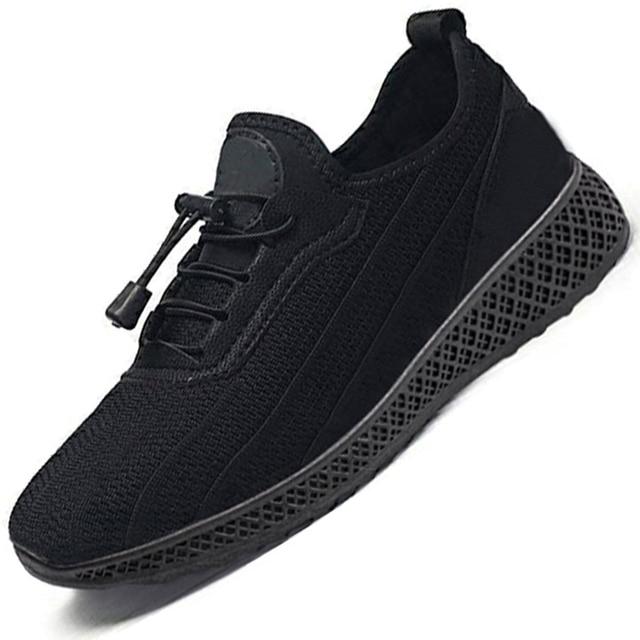 גברים נעלי 2019 אופנה גברים גופר נעלי גברים סניקרס שרוכים גברים נעליים יומיומיות מזדמנים לנשימה סניקרס זכר נעליים הנעלה