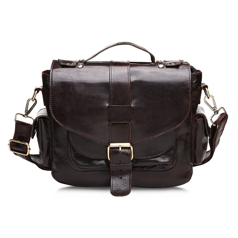 Business Genuine Leather Bags Cowhide Men Messenger Bags Vintage Crossbody Shoulder Men Bag New vintage fashion men big travel bags made by genuine leather men sports hiking messenger bags cowhide shoulder bags for men 2016